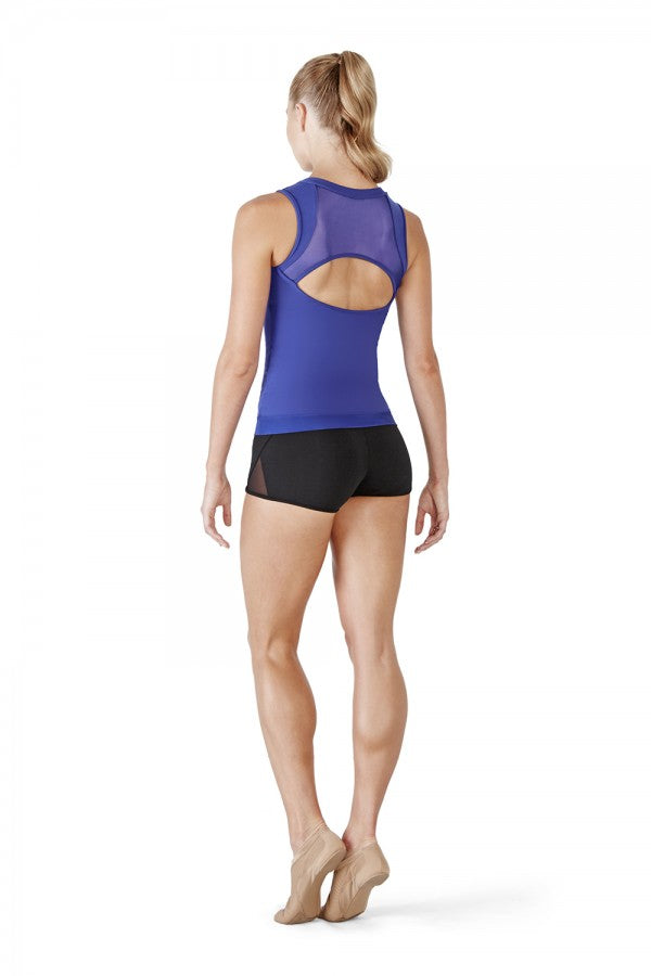 Bloch Zipper Front Tank Top - Dance Emporium