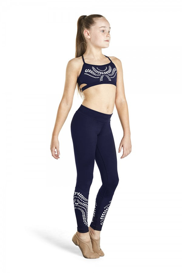 Laser Cut Legging - Dance Emporium