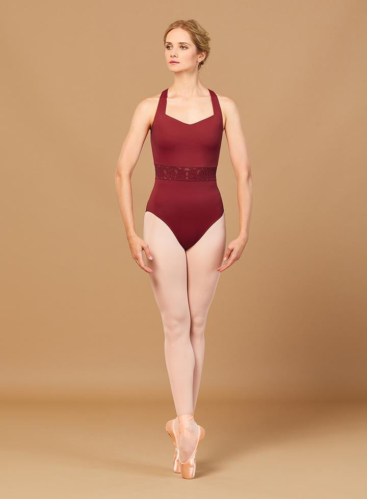 Ember Trim V Neck Leotard
