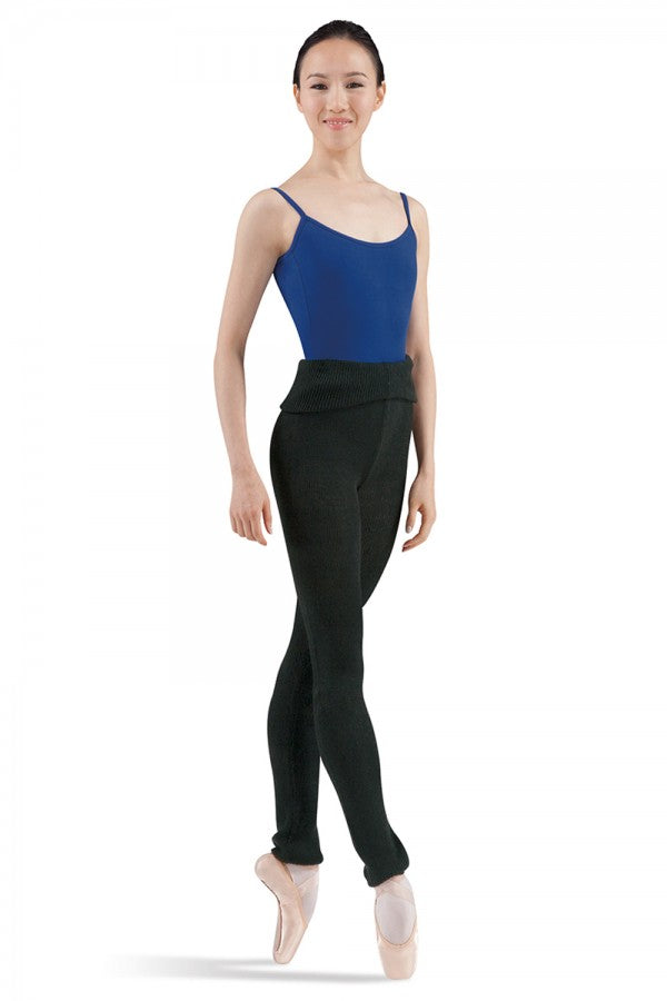Marcy Roll Over Waist Pants - Dance Emporium