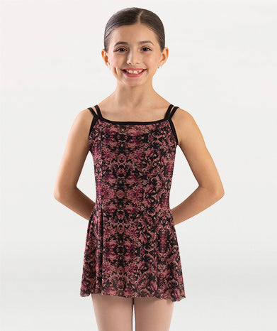 Girl's Beaucoup Princess Camisole Mesh Dress - Dance Emporium
