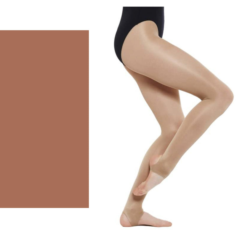 Shimmer Stirrup Adult Tights - Dance Emporium