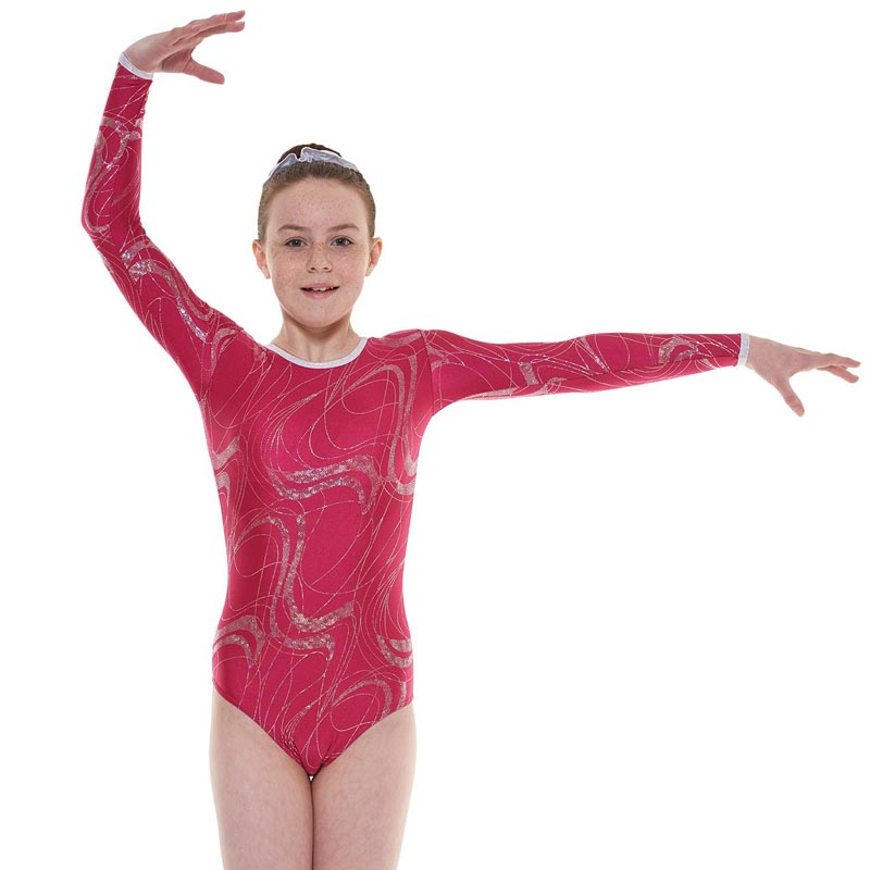 Long sleeve Gymnastic Leotard Gym 36 - Dance Emporium