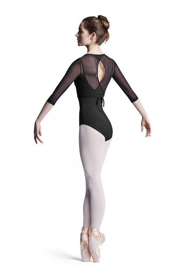 Bloch Mesh Wrap Top - Dance Emporium