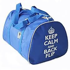 Keep Calm Backflip Gymnastic Bags - Dance Emporium