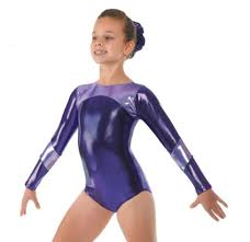 Purple Shine Long sleeve leotard - Dance Emporium