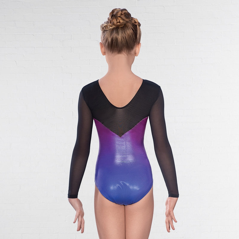 Ombre Gymnastics Leotard