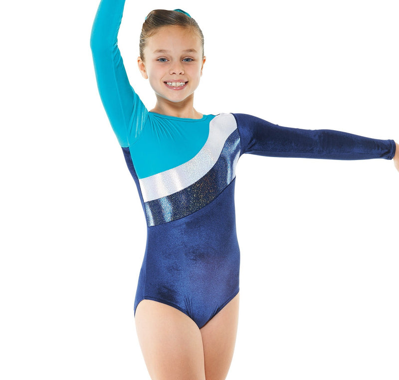 Velvet & Shine Long Sleeve Leotards - Dance Emporium