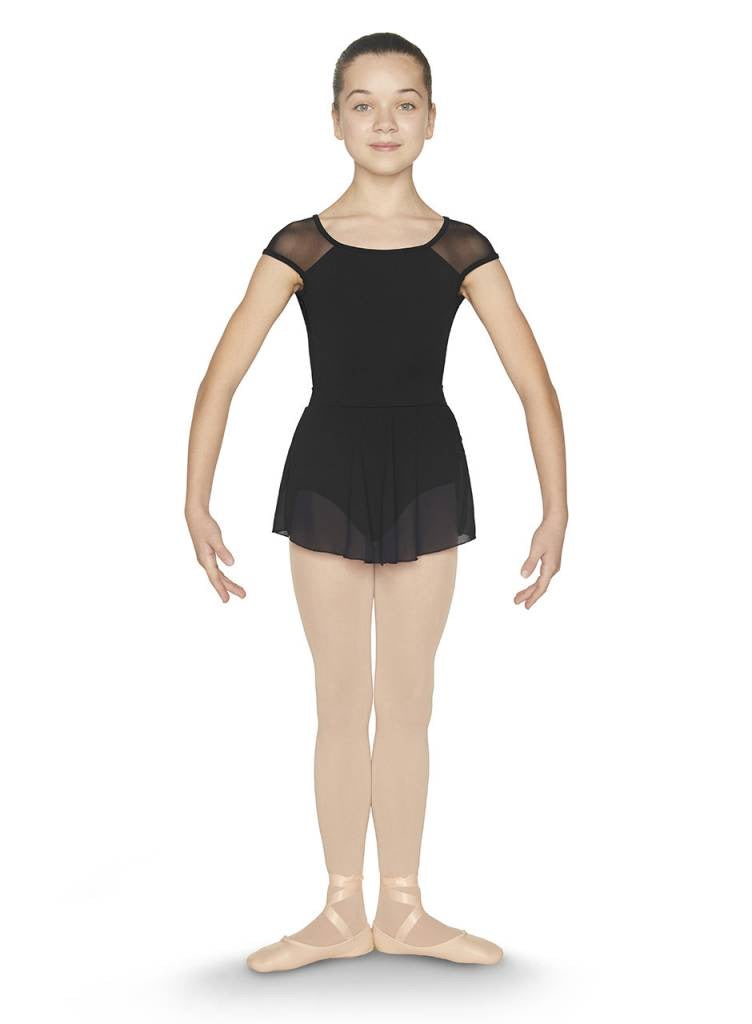 Open back skirted leotard - Dance Emporium