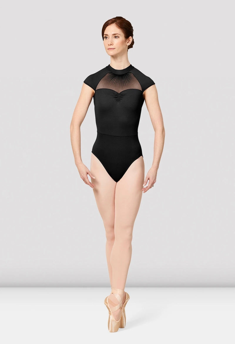 Ladies Mirella Vienna Cap Sleeve Mesh Back Leotard