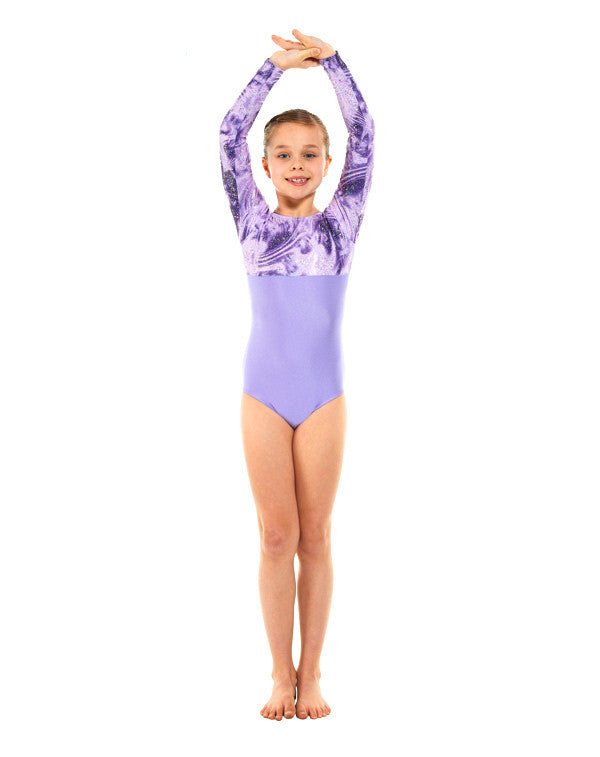 Long sleeve Gymnastic Leotard Gym 8 - Dance Emporium