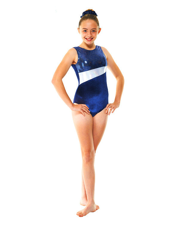 Velvet And Cosmic Shine Sleeveless leotard Gym 17