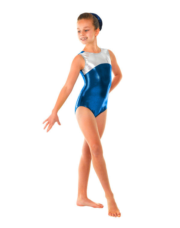 Shine panel sleeveless leotard Gym 11 - Dance Emporium