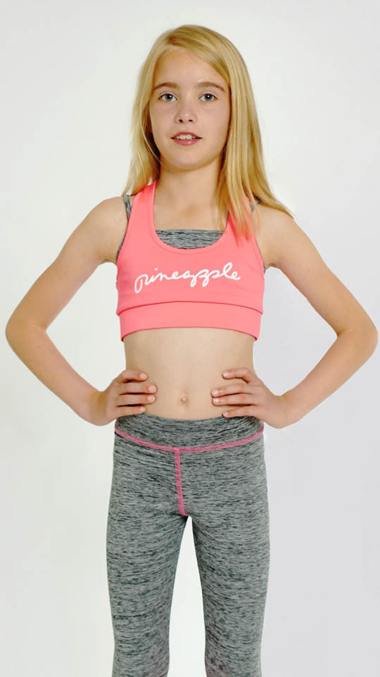 Girls' Studio Double Crop Top - Dance Emporium
