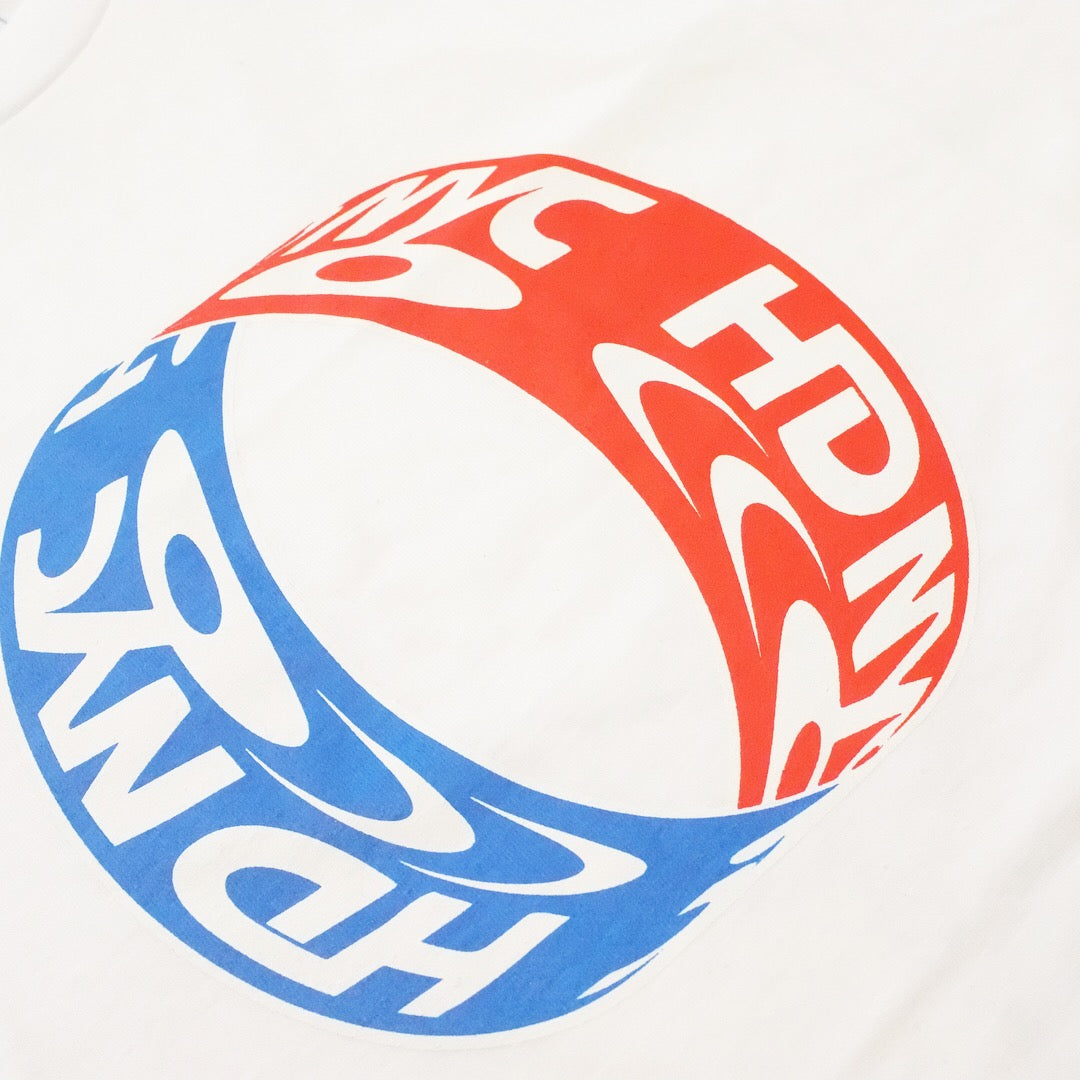 CNY WHITE SHORT SLEEVE TEE