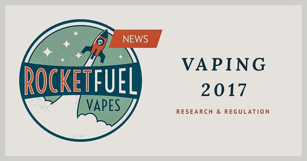 Vaping regulation and research 2017 | Outlook | Banner