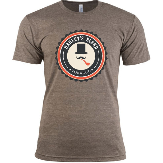Harley's Blend Tobacco official logo t-shirt