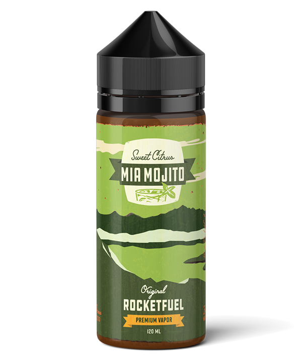 Mia Mojito Vapor | Rocket Fuel Vapes | 120 mL