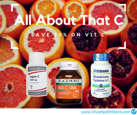 Vitamin C Supplements | Blog | VivaHealth Pharmacy Singapore