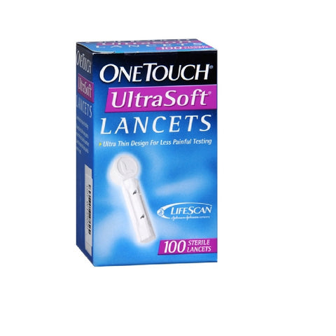 One Touch Ultra Lancets 100s
