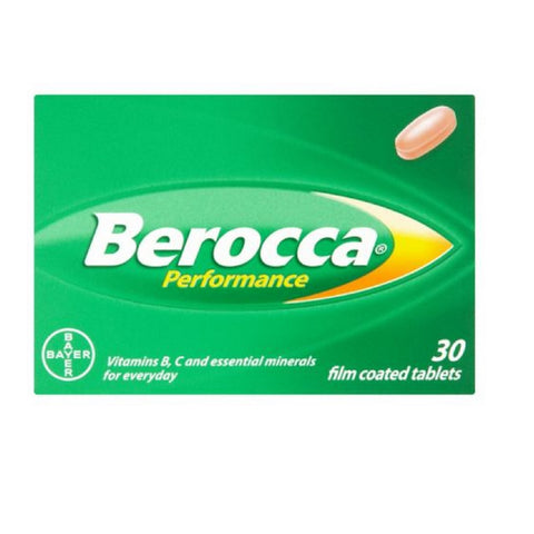 Berocca ORANGE Film Coated - 30 Tablets
