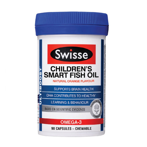Swisse Children's Smart Fish Oil 90s