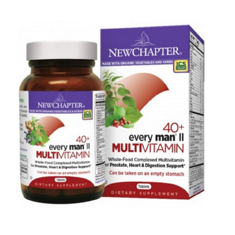 NEW CHAPTER EVERY MAN® II 40+, 96 TABLETS