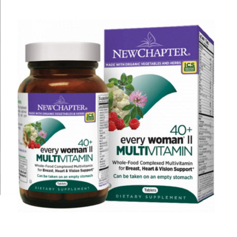 NEW CHAPTER EVERY WOMAN® II 40+, 96 TABLETS