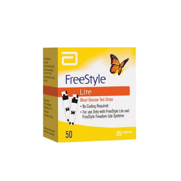 Freestyle Freedom Lite test strips 50s