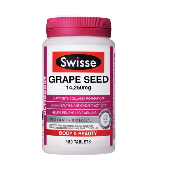 Swisse Grape Seed 14,250mg 180s