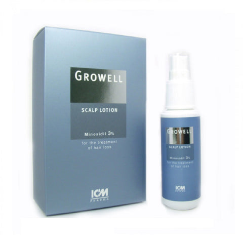 Growell 3% Scalp Lotion 60mL
