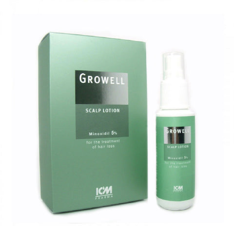 Growell 5% Scalp Lotion 60mL