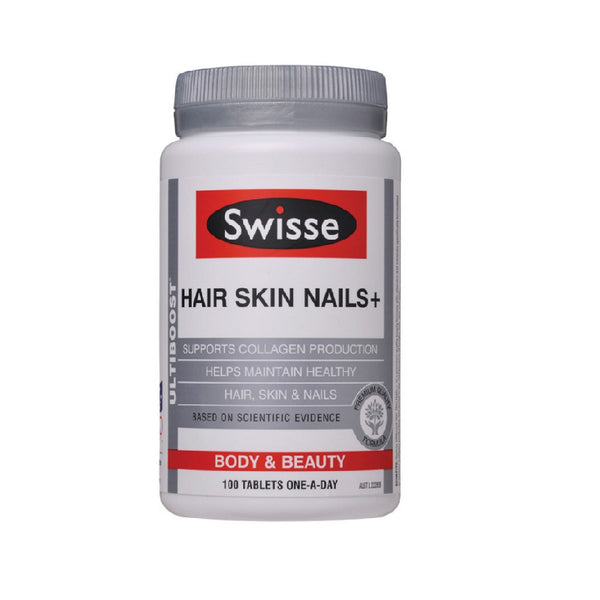 Swisse Hair Skin Nails+, 100s