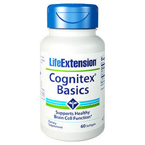 Life Extension Cognitex® Basics, 60 softgels