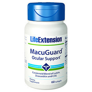 Life Extension MacuGuard® Ocular Support, 60 softgels