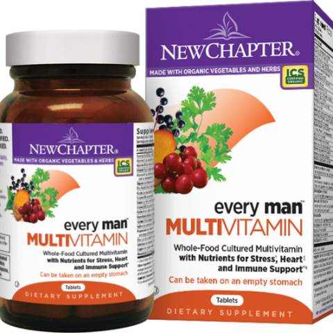 New Chapter Every Man™ Multivitamin, 72 tablets