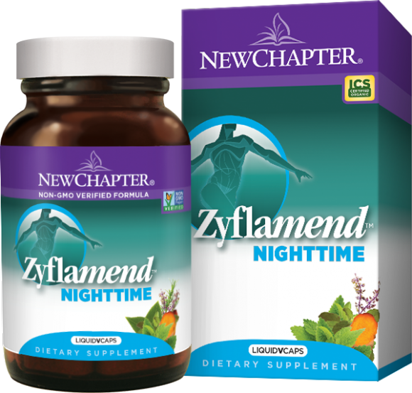 New Chapter Zyflamend™ Nighttime, 60 liquid vege caps