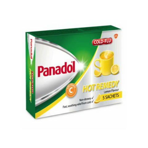 Panadol Cold & Flu Hot Remedy, 5s