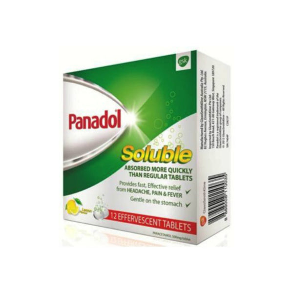 Panadol Soluble, 12s