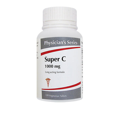 Physician's Series Super C 1000mg, 100 vegetarian tablets