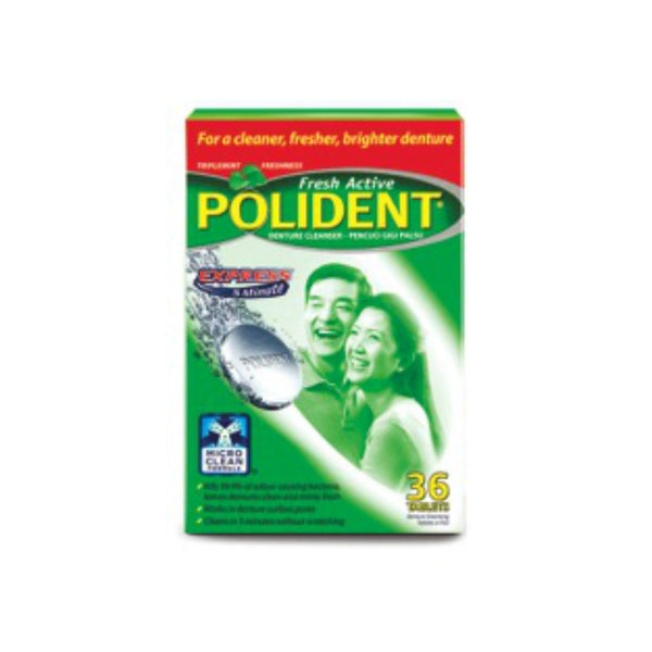 Polident® 3 Minute Cleansing Tablets, 36s
