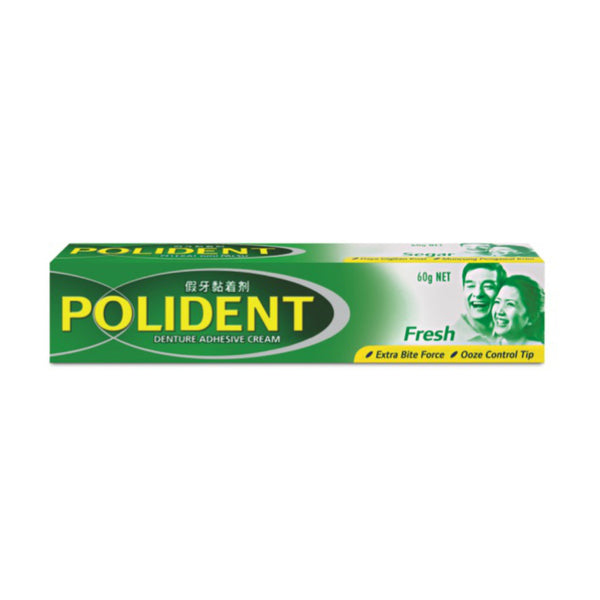 Polident® Denture Adhesive Cream Fresh, 60g