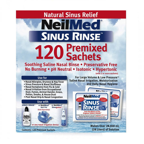 Sinus Rinse Mixture 120 Sachets