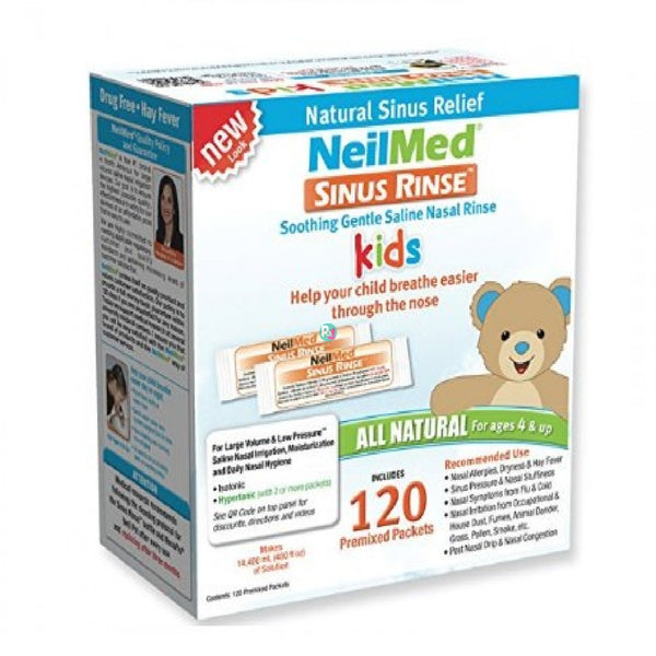 Sinus Rinse Pediatric Mixture 120 Sachets