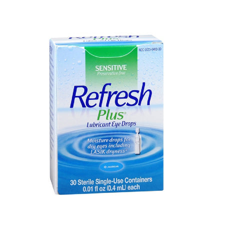 Refresh Plus Eye Drops 30x0.4mL