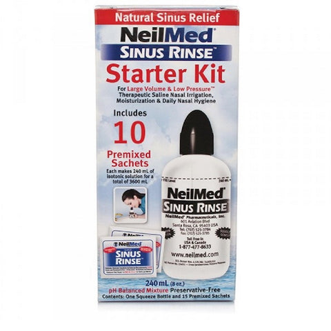 Sinus Rinse Starter Kit (Adult)