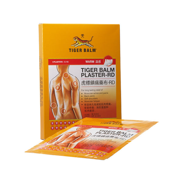 Tiger Balm Plaster-RD (Warm) Large 3s