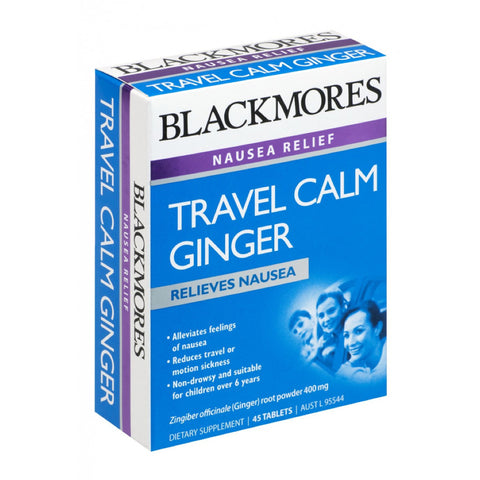 Blackmores Travel Calm Ginger, 45s