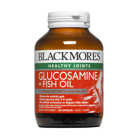 Blackmores Glucosamine + Fish Oil, 90s