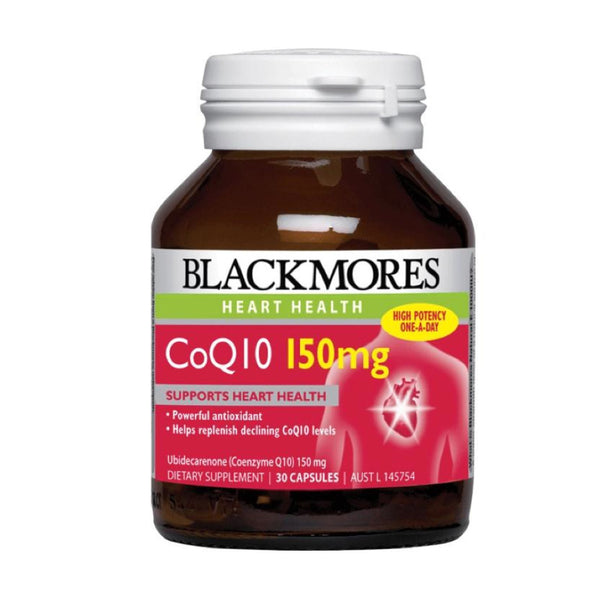 Blackmores CoQ10 150mg, 30s